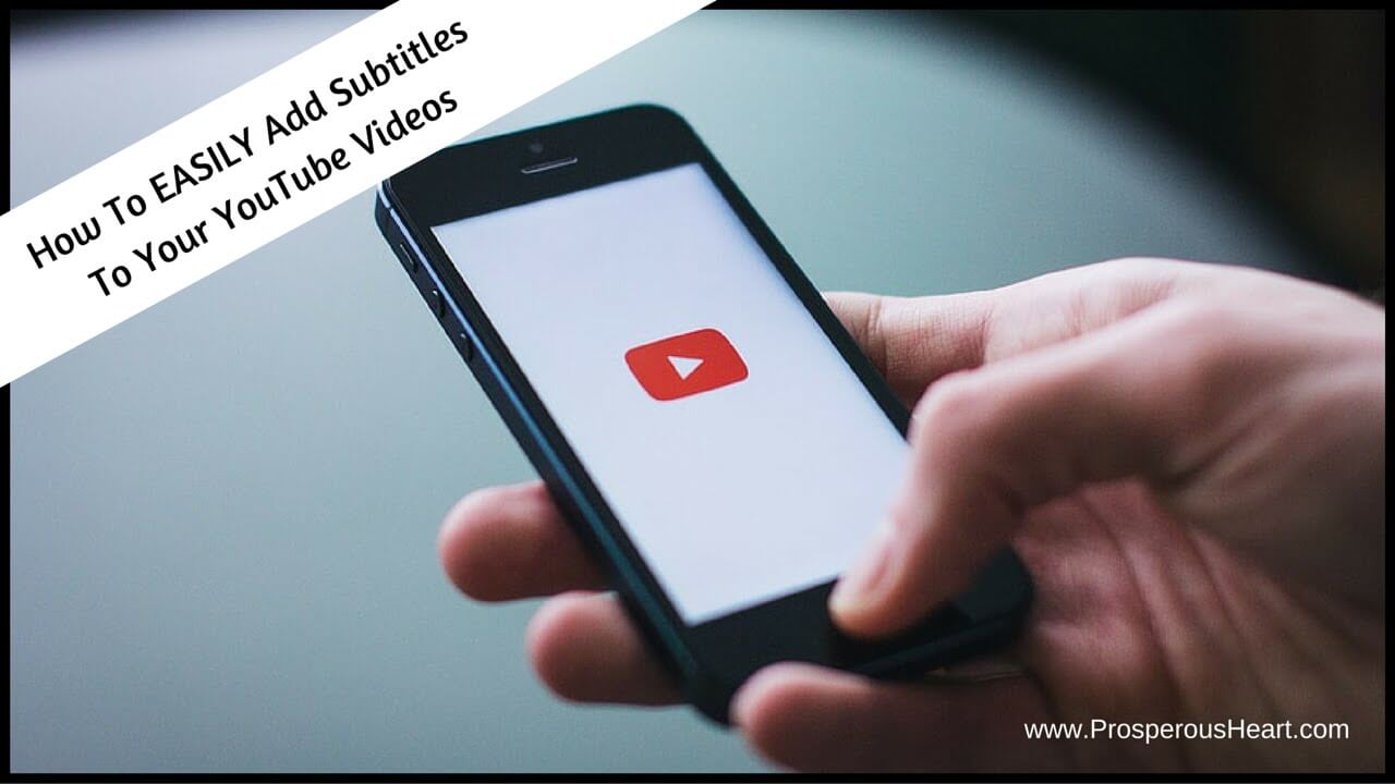 how to add subtitles to you tube